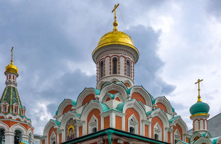 Russia, Moscow, Red Square, the Kazan Cathedral