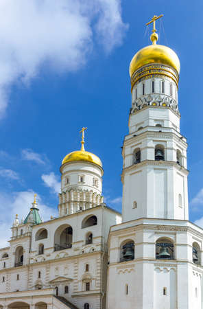 Russia, Moscow, Kremlin, the Ivan the Great bell tower 版權商用圖片