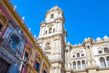 Spain, Malaga, the Cathedral of Santa Maria de la Incarnacion