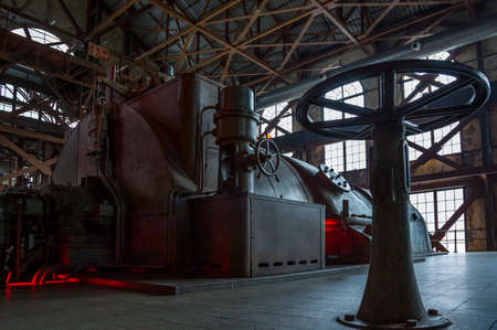 Istambul , Turkey - February 21, 2013: An old power plant  trasformed in 'Energy museum' in the Santral complex