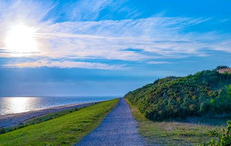 Denmark, Jutland peninsula, Esbjerg, the wild seafront