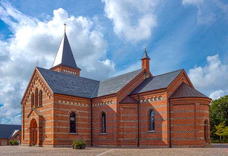 Denmark, Jutland peninsula, Esbjerg, the Our Lords  church Stock Photo