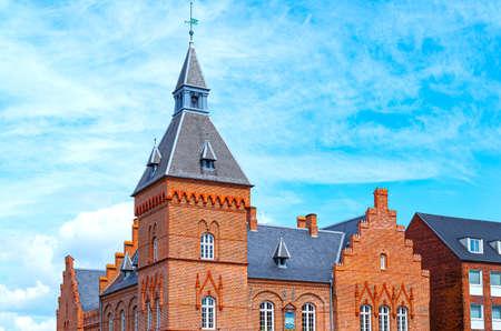 Denmark, Jutland peninsula, Esbjerg, Torvet square, the old Town Hall Editorial