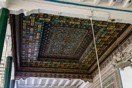 Kashgar, Xinjiang, China: the most famous attractions in Kashgar Ancient Town.