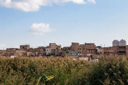 Aug 2017, Kashgar, Xinjiang, China: poor districts on the outskirts of Kashgar Old Town, a major tourist spot along the Silk Road and one of the westernmost cities of China