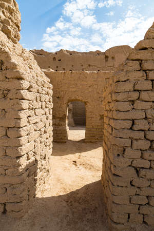Ruins of Gaochang, Turpan, China. Dating more than 2000 years, Gaochang and Jiaohe are the oldest and largest ruins in Xinjiang. Buddhist temple