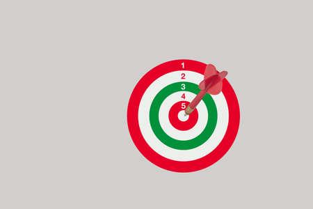 centered: Target centered