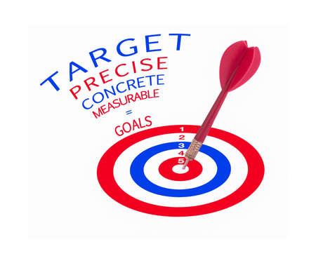 precise: Precise concrete measurable objectives
