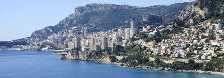 monte carlo: Monte Carlo overlooking the Cote dAzur-France