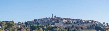 View of the village Saint Paul de Vence