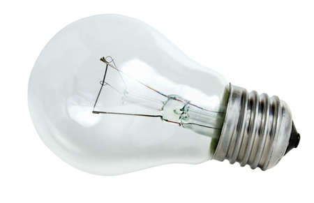 A light bulb on white background. Stock Photo - 6909433