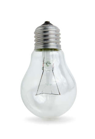 Light bulb isolated on white background Stock Photo - 7484158