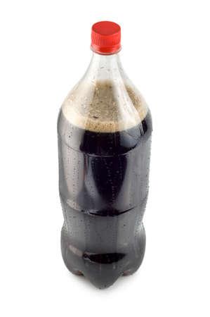 Bottle of soda photo