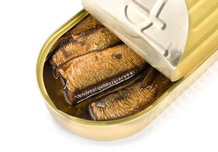 sardinas: Sardinas en conservas aisladas