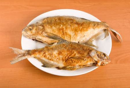 Fried bream Stock Photo - 8577103