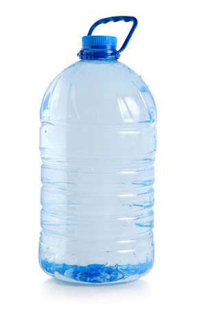 kunststof fles: Grote fles water
