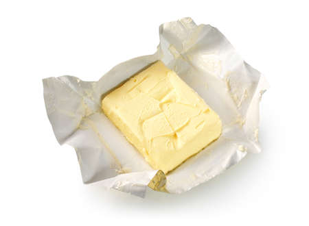 Butter isolated Stock Photo - 9160199