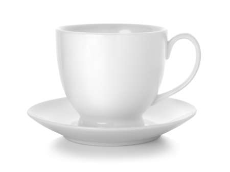 Coffee cup and saucer Stock Photo - 9604936