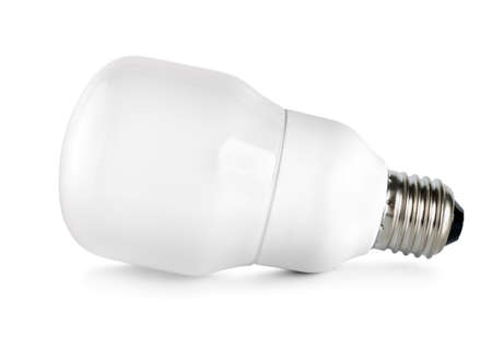 Energy saving compact fluorescent lightbulb Stock Photo - 9694480