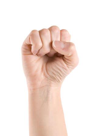 puÑos: Puño de la mano Foto de archivo