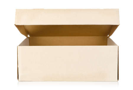 Box isolated photo