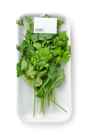 Packed parsley Stock Photo - 11365310