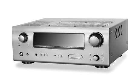 Hi-Tech AV receiver Stock Photo