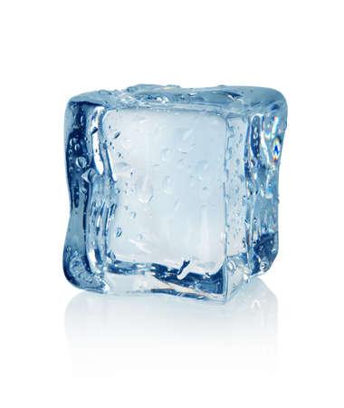 melting ice: Ice cube