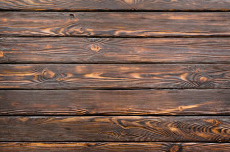 rustic  wood: Old dark wooden board