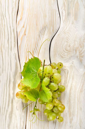 Green grapes on the table Stock Photo - 14074996