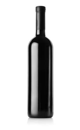 white wine bottle: Bottle of red wine