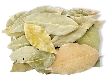 dried herbs: Heap bay leaves