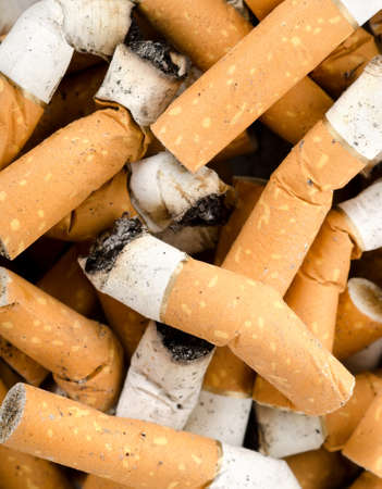unhealthy living: Background from cigarettes