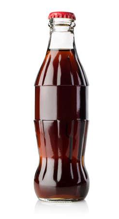 Pequeña botella de soda Foto de archivo