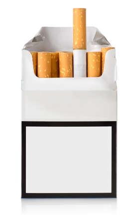Pack of cigarettes Stock Photo - 17089046