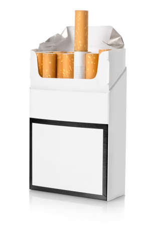 Pack of cigarettes photo