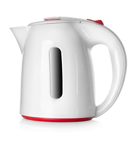 White kettle Stock Photo - 17227367