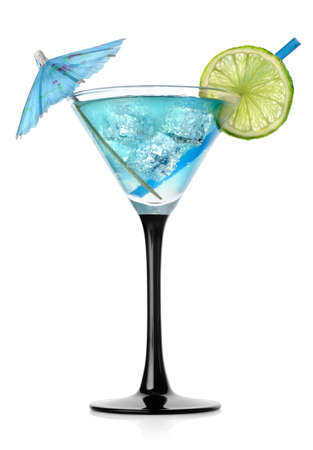Blue cocktail Stock Photo - 17317382