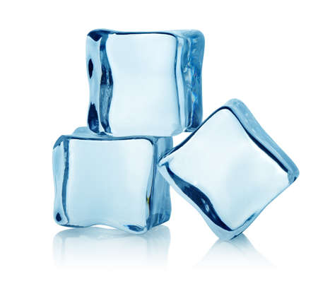 Three ice cubes photo