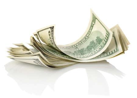 dollar bills: Bundle di dollari
