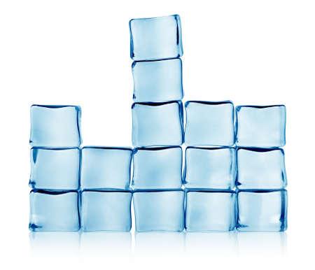 tetris: Figures from ice