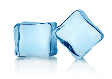 Two ice cubes Stock Photo - 17714708