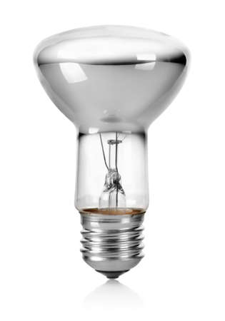 White light bulb Stock Photo - 17714768