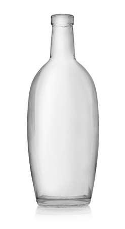 vodka bottle: Empty bottle of vodka