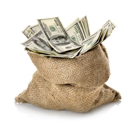 gotówka: Dolar w worku