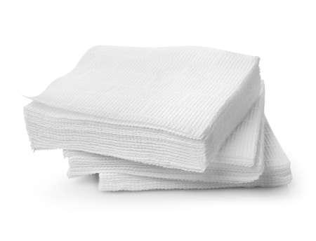 Paper napkins Banco de Imagens