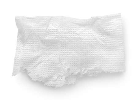 Torn napkin Stock Photo - 18756360