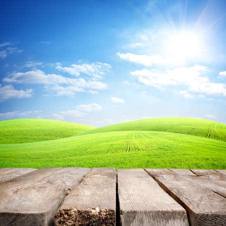 Tafel en in het veld