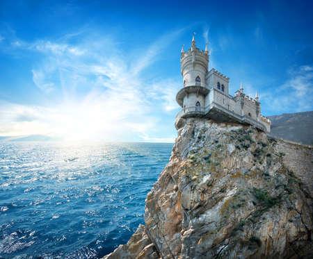 crimea: Swallow s Nest Castle  in Crimea