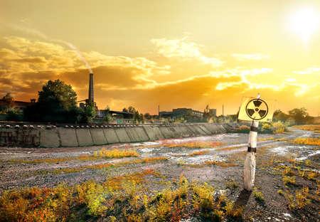 contaminated: Contaminated area